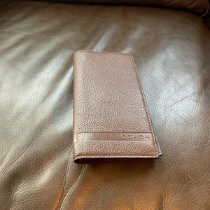 NEW WITH TAGS COACH MENS MAHAGANY LEATHER WALLET